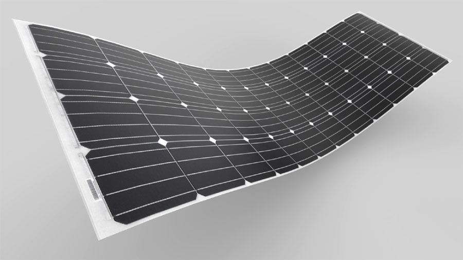 ULTRALIGHT FLEXIBLE SOLAR PANEL